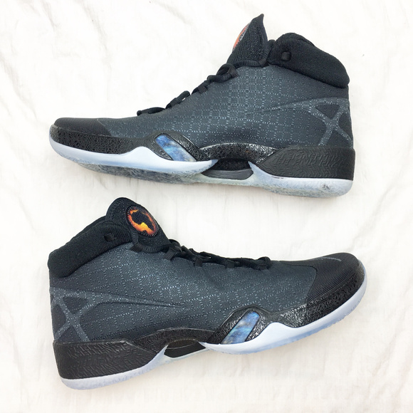 Nike Air Jordan XXX 30 Anthracite Black Cat Shoes 056b0a116